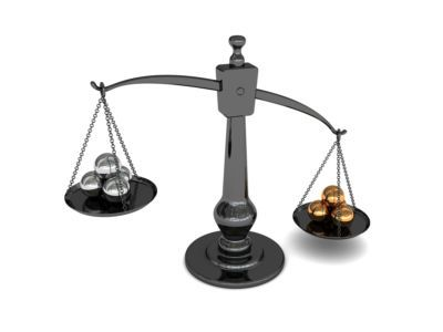 scale with metal balls - Mundahl Law, PLLC
